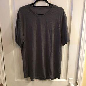 Lululemon Men's Large Shirt gray